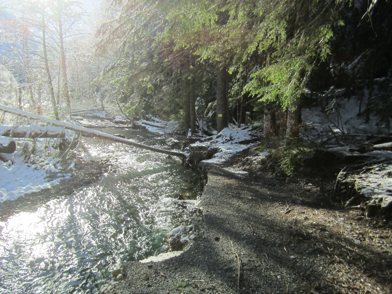 New Washout at Twin Bridges